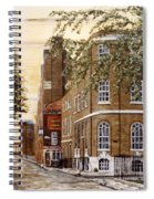 Sunrise On Wapping High Street London Spiral Notebook