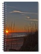 Sunrise Outer Banks Norht Carolina Img_3721 Spiral Notebook