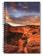 Sunrise Over Canyonlands Spiral Notebook