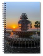 Sunrise Over Charleston Spiral Notebook