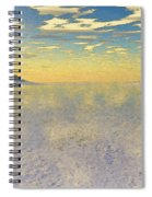 Sunrise Over Glacial Bay Spiral Notebook