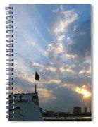 Sunrise Over Philadelphia  Spiral Notebook