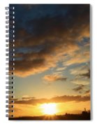 Sunrise Over Port Angeles Spiral Notebook