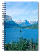 Sunrise Over St. Mary Lake, Glacier Spiral Notebook