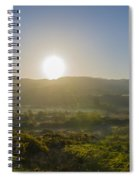 Sunrise Over The Bluestack Mountains - Donegal Ireland Spiral Notebook