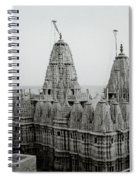 Sunrise Over The Jain Temples Spiral Notebook