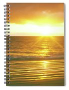 Sunrise Over The Pacific Ocean, Cabo Spiral Notebook