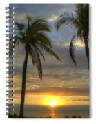 Sunrise Palms Spiral Notebook