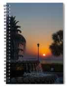 Lowcountry Pineapple Spiral Notebook