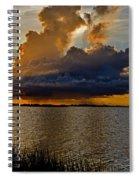 Sunrise Rain Spiral Notebook