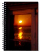 Sunrise Refection Spiral Notebook