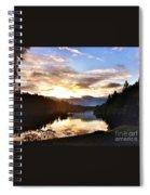 Sunrise River Mirror Spiral Notebook