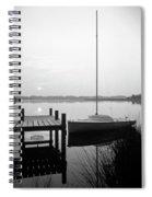 Sunrise Sail Boat Spiral Notebook