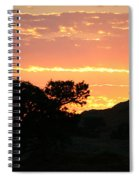 Sunrise Scenery Spiral Notebook