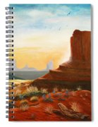 Sunrise Stampede Spiral Notebook