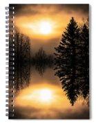 Sunrise-sundown Spiral Notebook