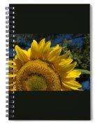 Sunrise Sunflower Spiral Notebook