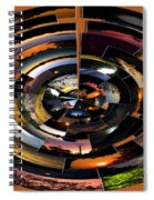 Sunrise Sunsets Polar View Spiral Notebook