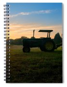 Sunrise Tractor Spiral Notebook