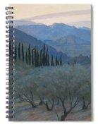 Sunrise Umbria 1914 Spiral Notebook