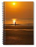 Sunrise Walk Spiral Notebook
