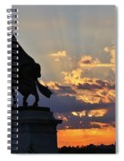 Sunrise With Saint Louis The 9th Spiral Notebook