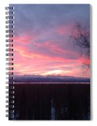 Sunrise With Tree Spiral Notebook