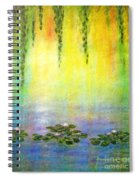 Sunrise With Water Lilies Spiral Notebook