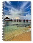 Sunscape Sabor Pier Spiral Notebook