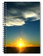Sunset @ Chesapeake Bay-2 Spiral Notebook