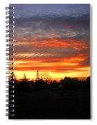 Sunset 02 28 13 Spiral Notebook