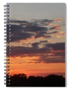 Sunset -2013-09-21 Spiral Notebook