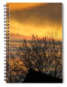 Sunset 4 Spiral Notebook
