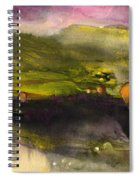 Sunset 50 Spiral Notebook