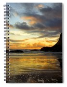Sunset And Seal Rock Spiral Notebook