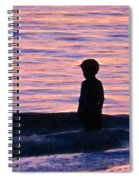 Sunset Art - Contemplation Spiral Notebook