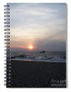 Sunset At Cape May Nj Spiral Notebook