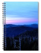 Sunset At Clingman's Dome Spiral Notebook