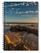 Sunset At Crystal Cove 12 Spiral Notebook