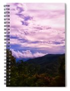 Sunset At Gorges State Park Spiral Notebook