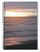 Sunset At Kalaloch Spiral Notebook