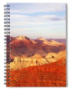 Sunset At Mather Point Grand Canyon Spiral Notebook