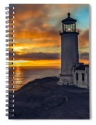 Sunset At North Head Spiral Notebook