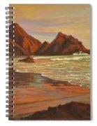 Sunset At Pfeiffer Beach Spiral Notebook