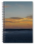 Sunset At Pocono Airport Spiral Notebook