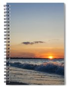 Sunset At Riva Spiral Notebook