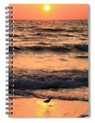 Sunset At St. Joseph Spiral Notebook