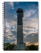 Sunset At The Lighthouse Spiral Notebook