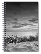Sunset At The Mediterranean Sea Spiral Notebook
