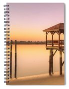 Sunset At Tybee Spiral Notebook